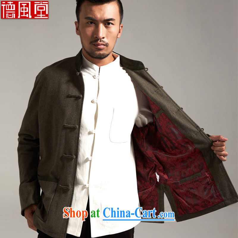 De-tong Shuai, China wind men's jackets Chinese parka brigades