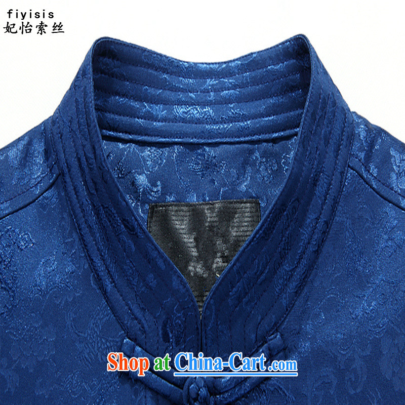 Princess SELINA CHOW (fiyisis) Spring and Autumn and new couples Tang jackets, older festive clothing had birthday dresses, men and women are indeed XL blue T-shirt, 180 Princess SELINA CHOW (fiyisis), online shopping