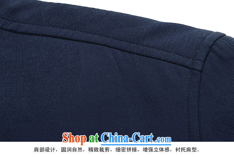The chestnut mouse New Men Tang jackets long-sleeved kit, for China wind Autumn Chinese jacket, old blue T-shirt 90 pictures, price, brand platters! Elections are good character, the national distribution, so why buy now enjoy more preferential! Health
