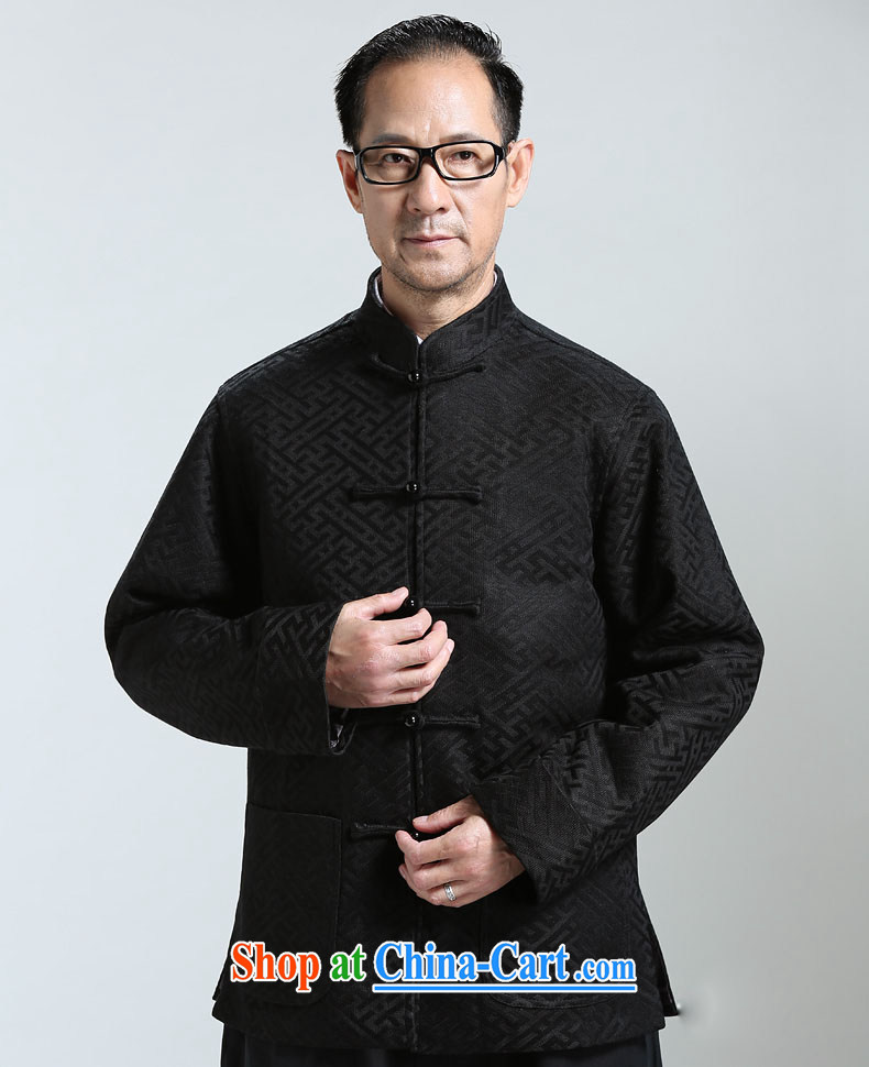 Name HANNIZI, new, older men's Long-Sleeve is detained Tang jackets China wind Han-T-shirt the T-shirt dark blue XXXXL pictures, price, brand platters! Elections are good character, the national distribution, so why buy now enjoy more preferential! Health