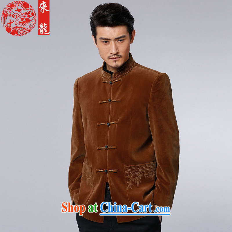 To Kowloon Tong with autumn and winter, China wind men's jackets and 13,038 color black 52