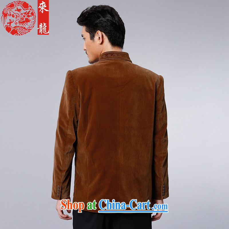 To Kowloon Tong with autumn and winter, China wind men's jackets and 13,038 color black 52 to Kowloon, and shopping on the Internet