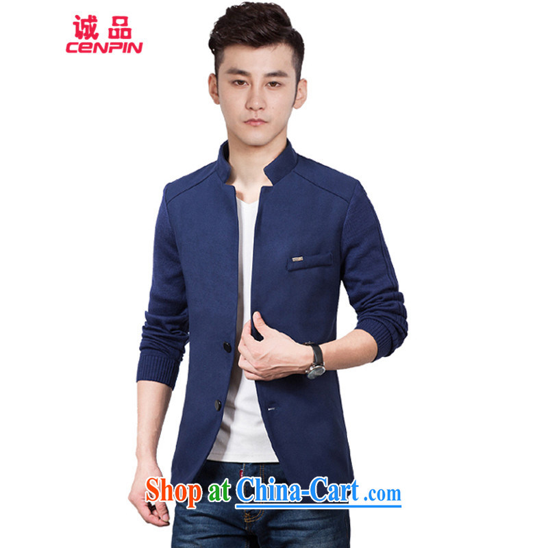 (men's Chinese Wind and leisure, for suit coats 906 dark blue XXXL, (CENPIN), shopping on the Internet