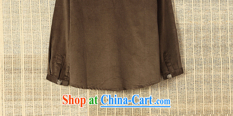 Dan Jie Shi 2015 New National wind leisure shirt long-sleeved male and antique Chinese autumn replace leisure fashion China wind-tie shirt autumn and winter with the Tibetan cyan L pictures, price, brand platters! Elections are good character, the national distribution, so why buy now enjoy more preferential! Health