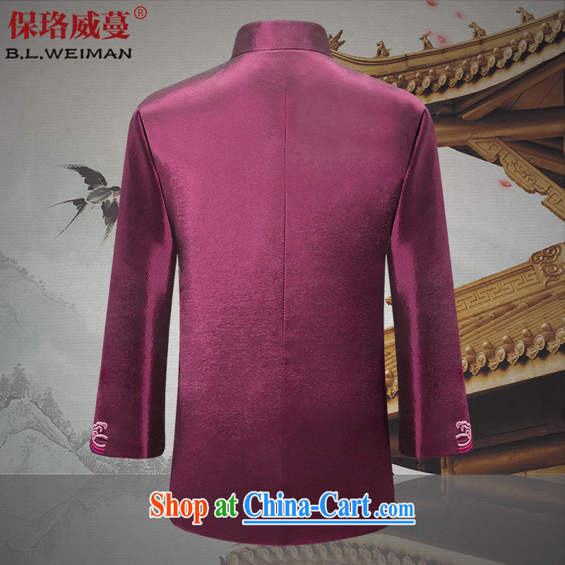 the Lhoba people sprawl, Autumn 2015 the new couple Chinese men and older persons in both men and women APEC banquet Chinese dress, rich men XXL, the Lhoba people, evergreens (B . L . WEIMAN), online shopping
