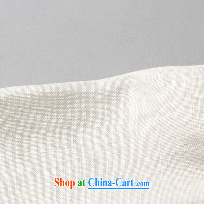 Take the men's Tang package installed, smock collar linen shirt ethnic wind Han-smock Tai Chi uniforms Kung Fu T-shirt - 3 XL