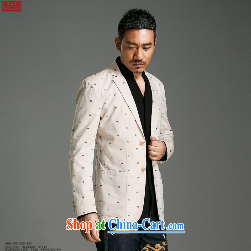 Internationally renowned Chinese clothing spring loaded men suits cultivating young fashionable men's jackets suit new broadband for leisure dot 10 m White 3XL