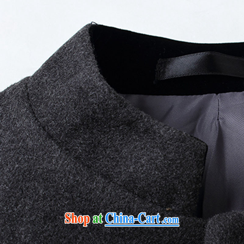 Old Mr Rafael Hui Carter 2015 autumn smock style Leisure Suit men's China wind Tang jackets 1015 gray 3 XL, Jimmy Carter, Mr Rafael Hui, shopping on the Internet